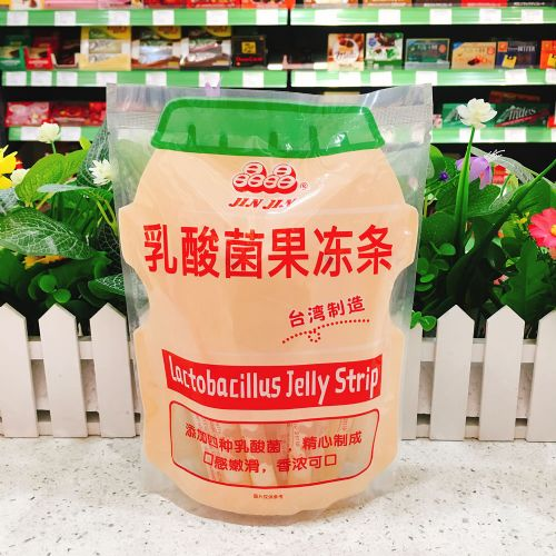 台湾晶晶乳酸菌果冻条390g