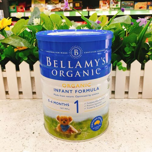 澳洲Bellamys贝拉米1段有机婴儿牛奶粉900g(0-6个月)新包装