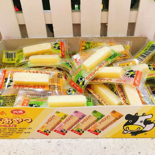 日本四洲鳕鱼奶酪条芝士条2.8g