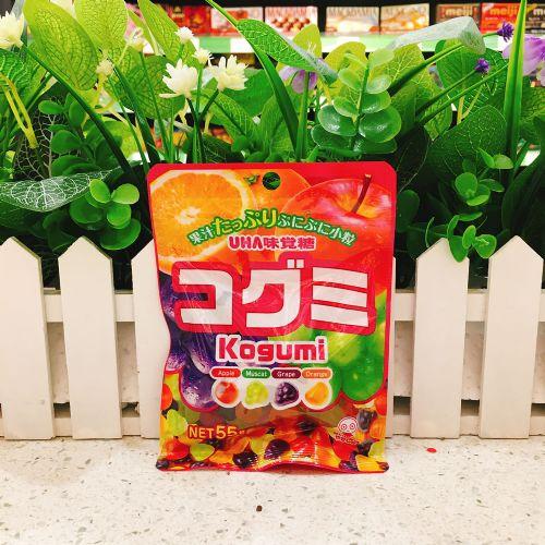 日本UHA悠哈味觉糖4味杂锦软糖55g