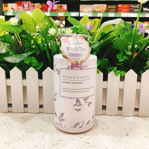 日本megami no wakka植物氨基酸女神芳香护发素480g