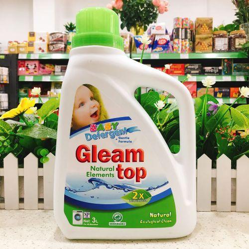 GLEAM TOP闪逸纯天然原生态婴儿洗衣液3L