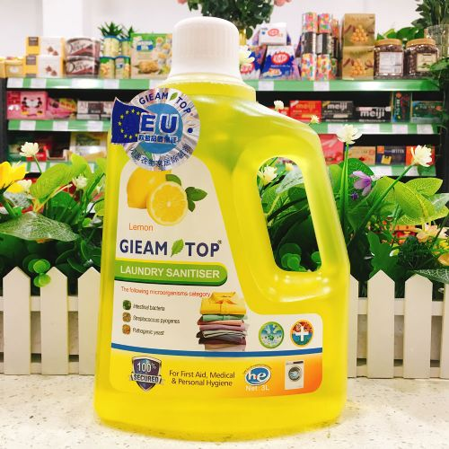 GLEAM TOP 闪逸衣物家居多用途清洁剂Q81(柠檬香味)3L