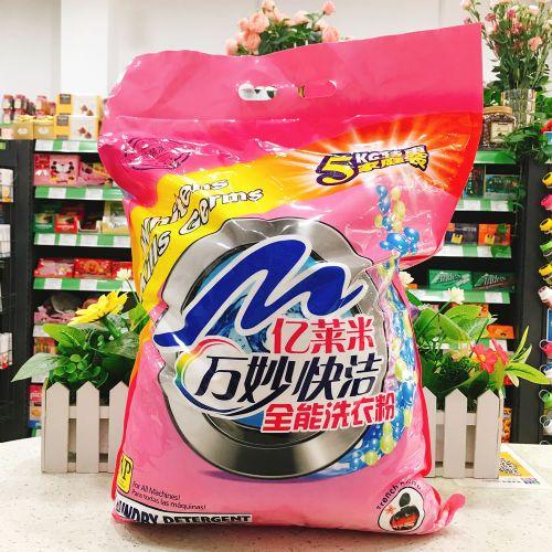 万妙快洁香水全能洗衣粉5kg(袋装)
