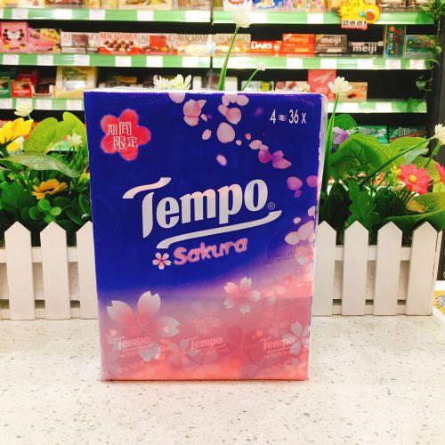 TEMPO得宝纸巾有图案樱花味36包