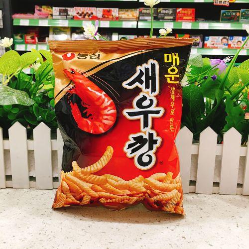 韩国农心虾条(辣味)90g