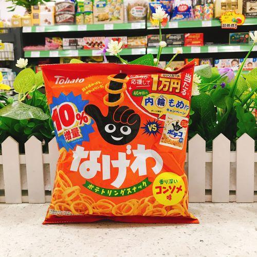日本桃哈多浓汤味手指薯圈78g(袋装)