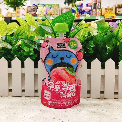 韩国酷儿水蜜桃果冻130ml