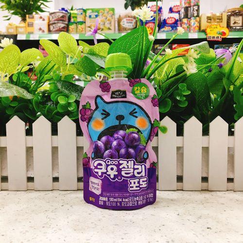 韩国酷儿蓝莓果冻130ml