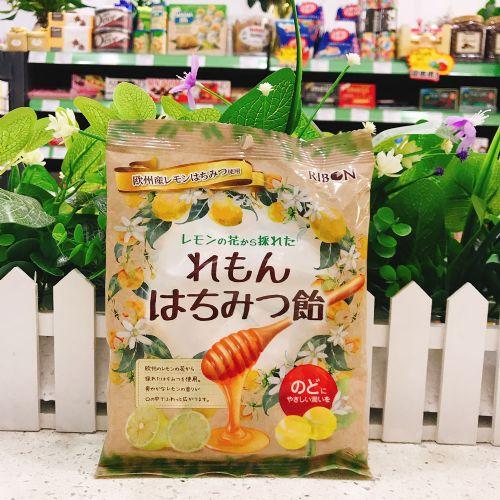 日本RIBON理本蜂蜜柠檬硬糖110g