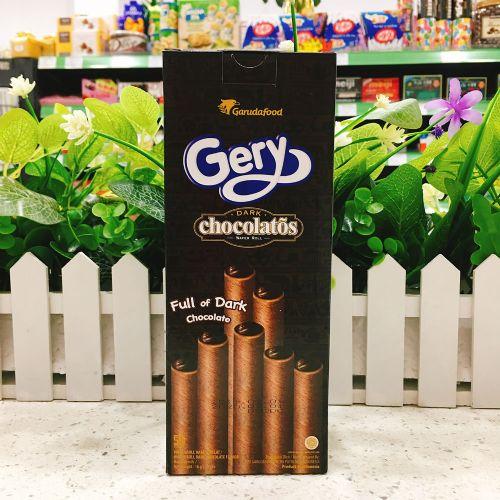 印尼Gery芝莉黑巧克力味夹心卷160g