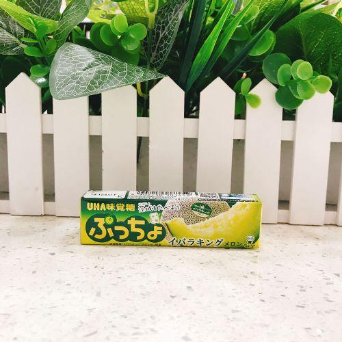 日本UHA悠哈味觉糖完熟哈蜜瓜味软糖10粒