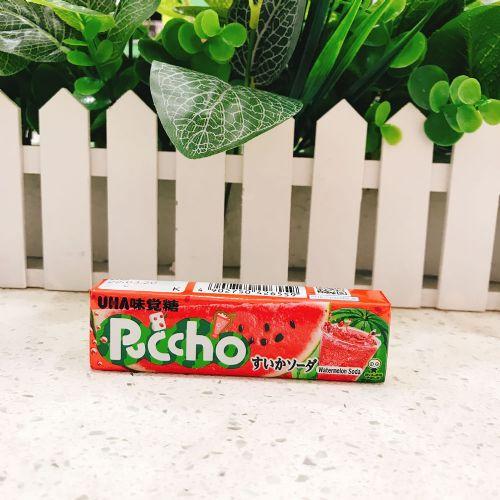 日本UHA悠哈味觉糖西瓜味软糖10粒
