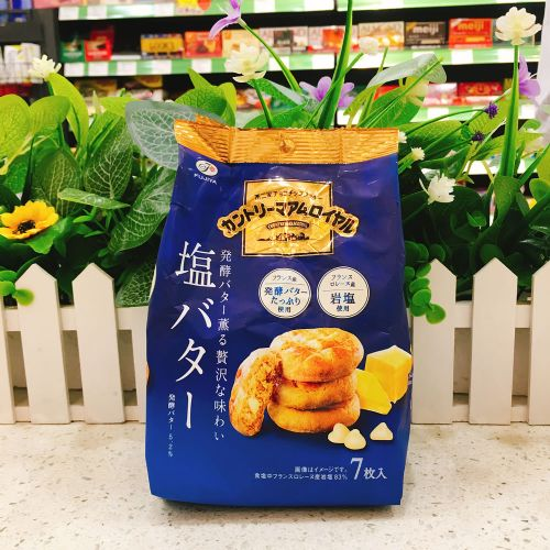 日本不二家盐牛油碎曲奇7枚(企袋)
