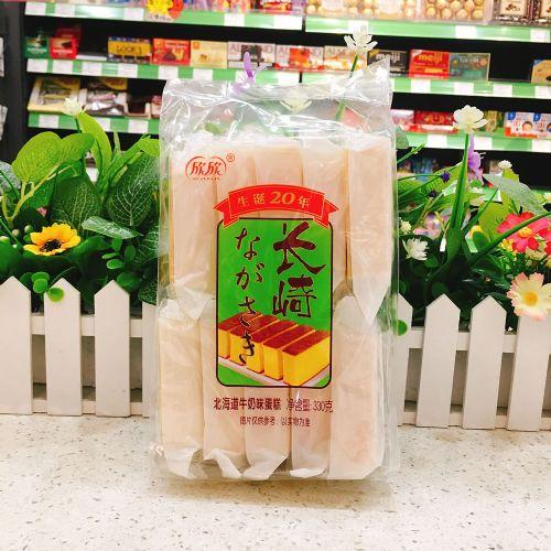 欣欣长崎蛋糕(北海道牛奶味)330g