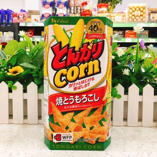 日本House酱油烧粟米筒75g(六角盒)