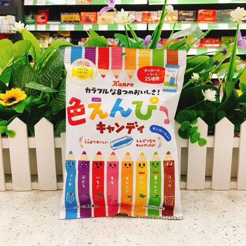 日本甘乐颜色笔杂果糖80g(袋装)