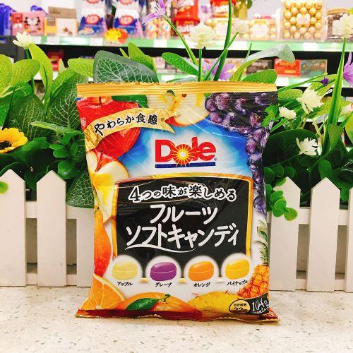 日本不二家Dole四款水果糖104g(袋装)