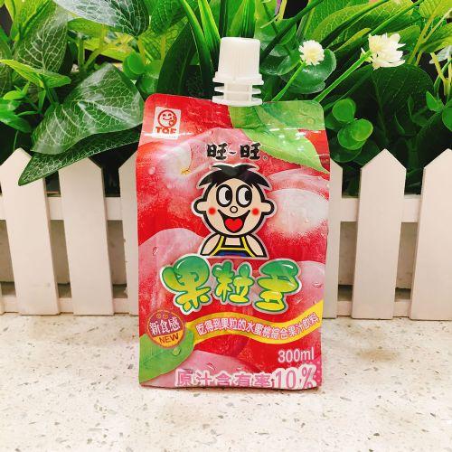 旺旺果粒多水蜜桃汁饮料300ml