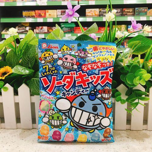 日本狮王7味汽水糖98g(袋装)