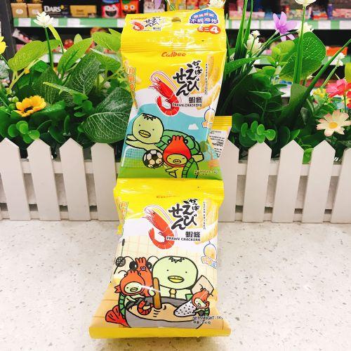 卡乐B和风酱汁味虾条14g×4连包