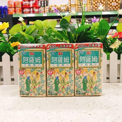 汇�f国际阿萨姆苹果味奶茶300ml×6