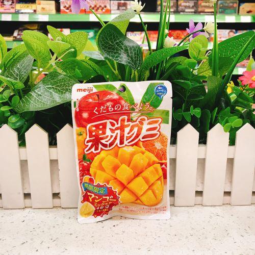 日本明治胶原蛋白芒果杂果果汁软糖47g(袋装)