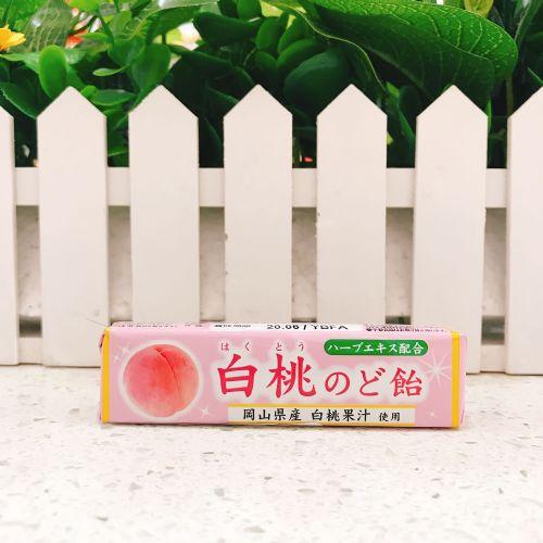 日本狮王白桃润喉糖10粒(条装)