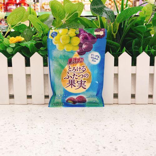 日本明治两款提子夹心软糖52g(袋装)