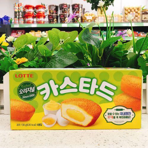 韩国乐天蛋黄派138g