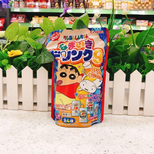 日本食玩HEART蜡笔小新DIY仿啤酒饮料