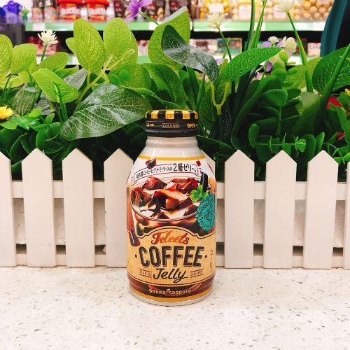 日本波卡咖啡味摇摇果冻饮料265g
