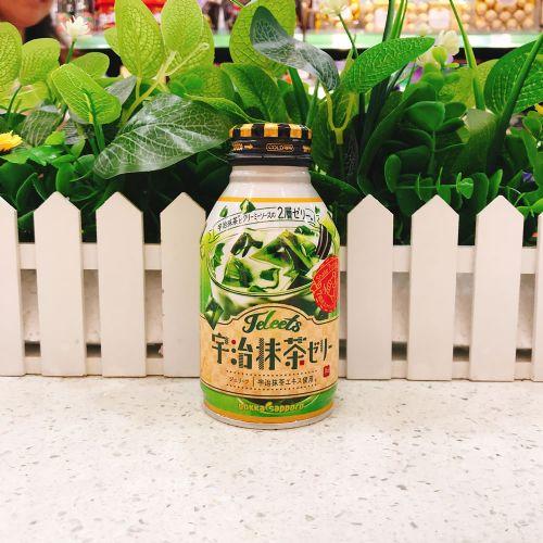 日本波卡抹茶味摇摇果冻饮料265g