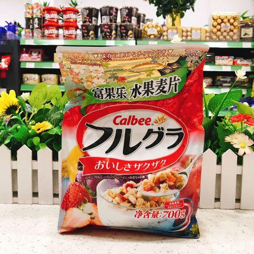 日本Calbee卡乐B富国乐即食水果麦片700g