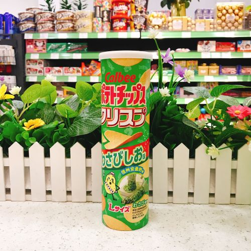 日本卡乐B芥辣盐味薯片115g(长筒装)