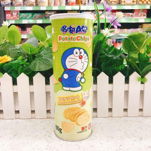哆啦A梦筒装薯片(酸奶洋葱味)80g
