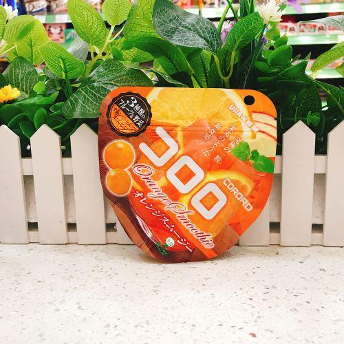 日本UHA味觉糖100%究极香橙软糖QQ糖40g