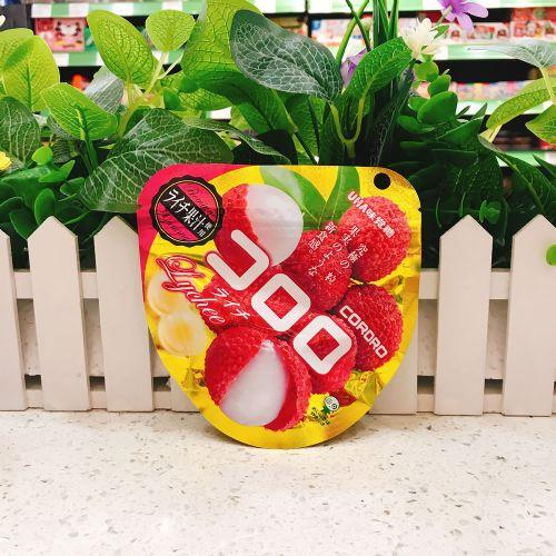 日本UHA悠哈味觉糖荔枝味软糖40g