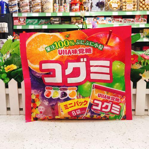 日本UHA悠哈味觉软糖(8袋入)