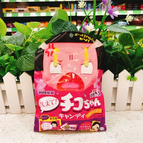 日本UHA味觉Chiko妹妹贴纸杂果糖57g(袋装)