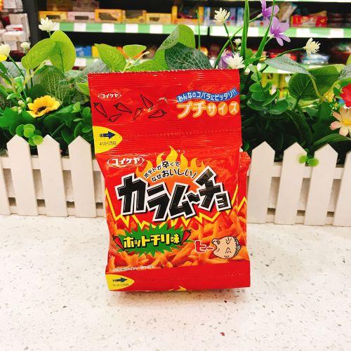 日本湖池屋阿婆激辣薯条52g(4连袋)