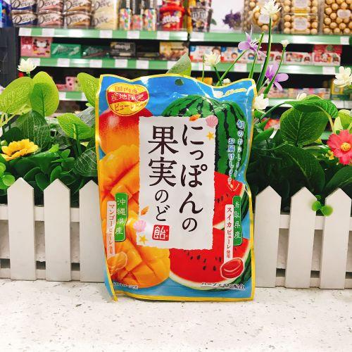 日本狮王西瓜芒果糖72g(袋装)