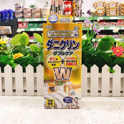 日本UYEKI强效除螨抑菌喷雾剂W型250ml