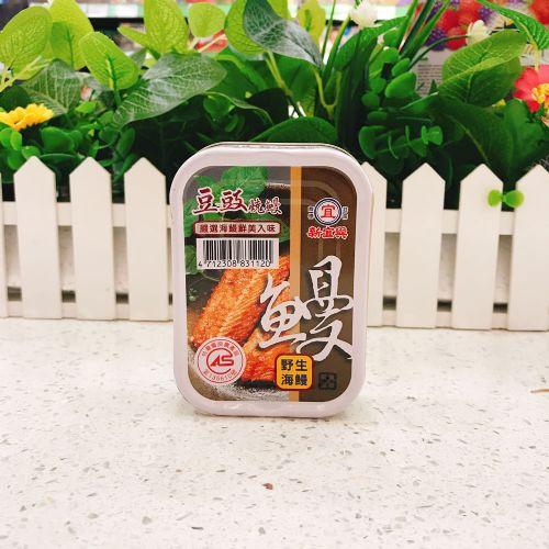 台湾新宜兴豆豉烧鳗鱼罐头100g