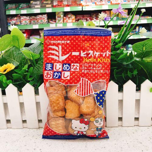 日本野村HELLO KITTY饼干100g