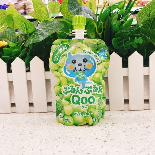 日本酷儿青提味可吸果冻125g