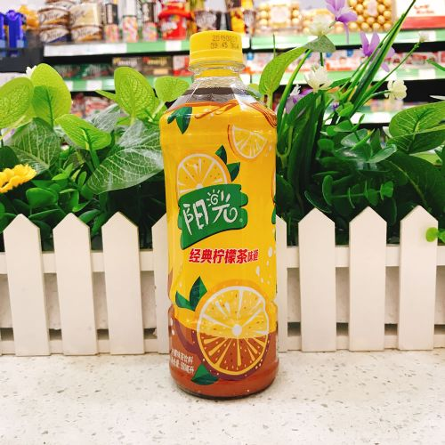 国产阳光柠檬茶饮料(支装)500ml