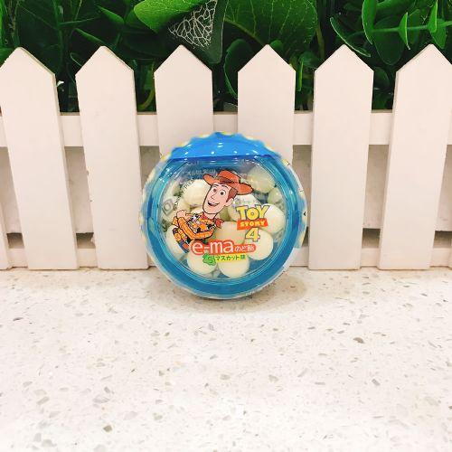 日本UHA味觉糖e-ma外星青蛙润喉糖33g(圆樽装)