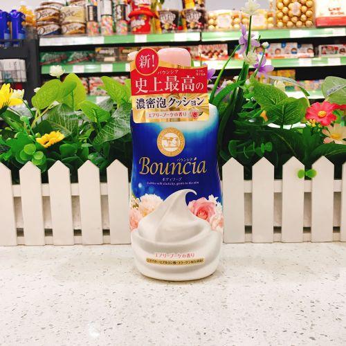 日本COW牛乳石碱沐浴露550ML(玫瑰味)