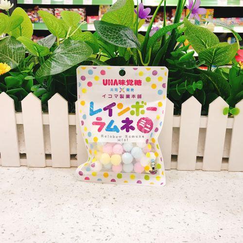 日本UHA悠哈味觉迷你七彩杂果粉糖40g(袋装)
